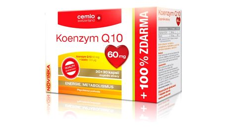 CEMIO Koenzym Q10 60 mg 60 kapslí