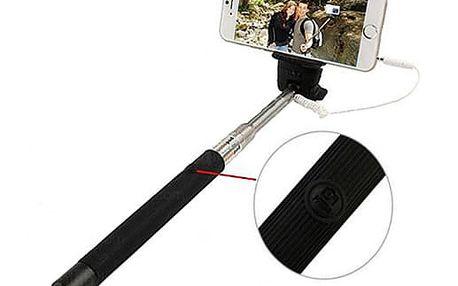 Stativ na Selfie s kabelem