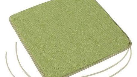 Bellatex Sedák Adéla hladký UNI zelená, 40 x 40 cm