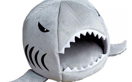 Pelíšek v podobě žraloka - 5 barev