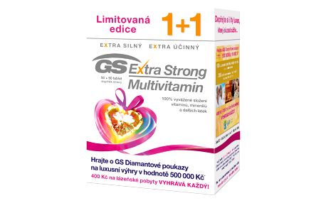 GS Extra Strong Multivitamin 50+50 tablet
