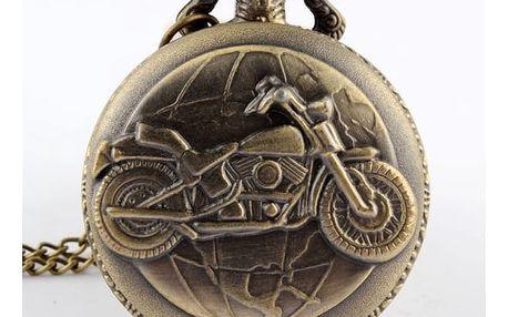 Kapesní hodinky pro milovníky motorek