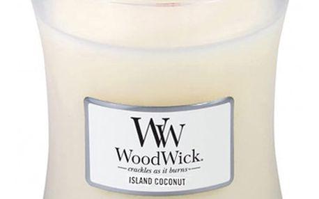 Vonná svíčka WoodWick Kokos,60hodinhoření