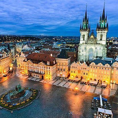 2–4denní pobyt pro 2 osoby se snídaněmi v pensionu Akát v Praze