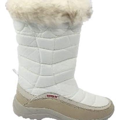 Značkové dámské sněhule SUPER IN bílé