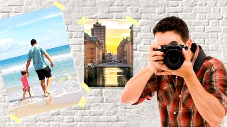 10 velkoformátových fotografií ve formátech A3 nebo A4
