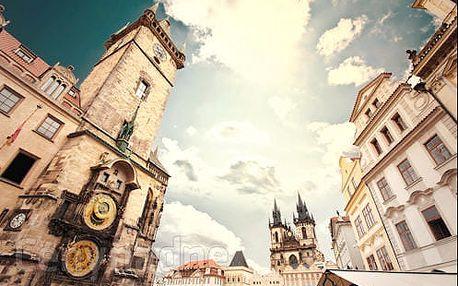 Praha - pobyt ve 4* hotelu za skvělé ceny. Se snídaní nebo polopenzí. CELOROČNĚ!