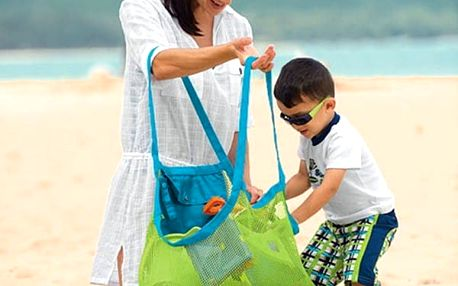 Praktická skládací taška na plážové vybavení i dětské hračky - dodání do 2 dnů
