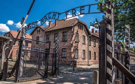 Výlet do koncentračního tábora v Osvětimi, Krakova a Wieliczky