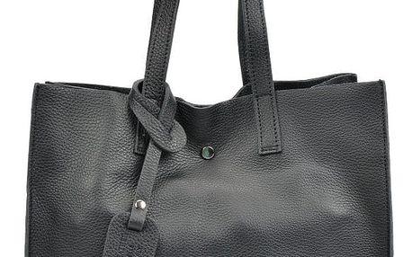 Černá kožená kabelka Isabella Rhea Dahna