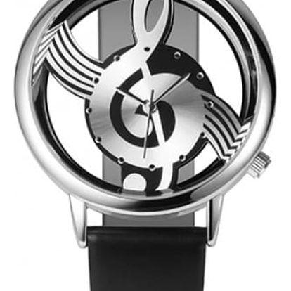 Originální hodinky pro hudebníky a hudebnice - 4 barvy