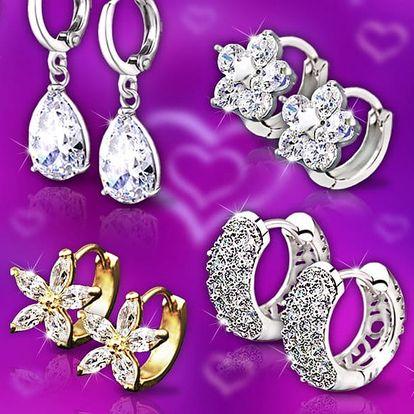 Zářivé náušnice a náramky La Diamantina