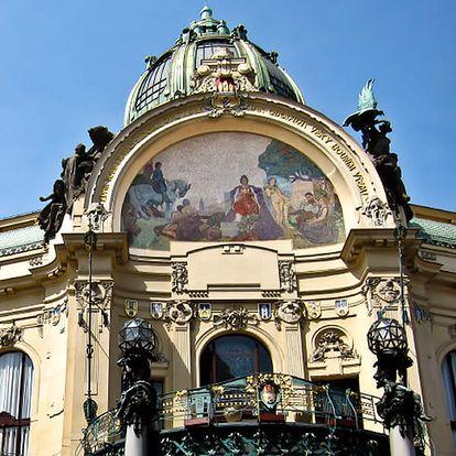 Vstupenka na koncert Antonio Vivaldi v Obecním domě, v Praze dne 23. 2. 2018.