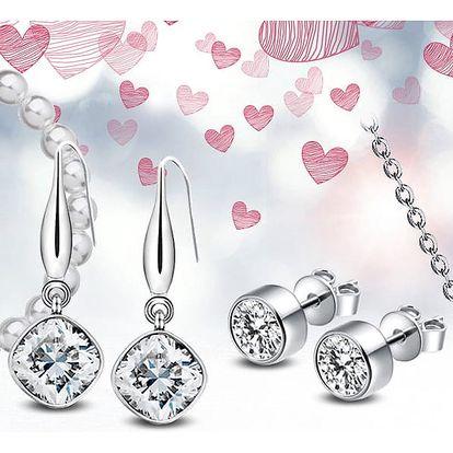 Ocelové šperky Crystal Collection s krystaly Swarovski®