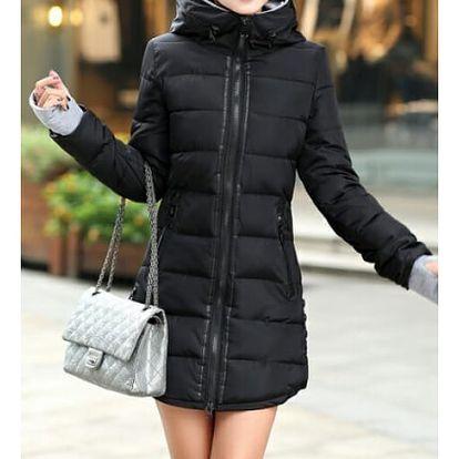 Prošívaná zimní bunda Pia - černá - velikost č. XL - dodání do 2 dnů
