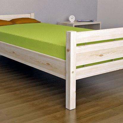 Masivní partnerská postel COLORADO 180x 200 cm vč. roštu