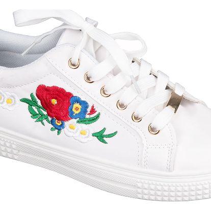 Fashion world Dámské tenisky Love Flowers květované