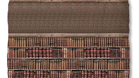 Hnědé bavlněné povlečení na jednolůžko Muller Textiels Stephanie, 140 x 200 cm