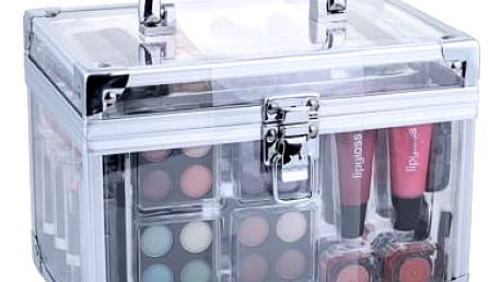 Makeup Trading Transparent dekorativní kazeta dárková sada W - Complete Makeup Palette