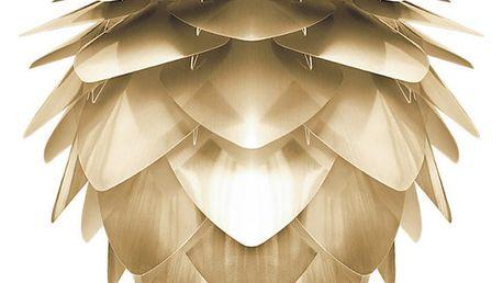 Stínidlo ve zlaté barvě VITA Copenhagen Silvia, Ø50cm - doprava zdarma!