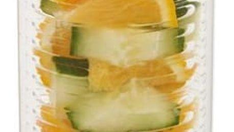 Oranžová lahev se sítkem XD Design Trita