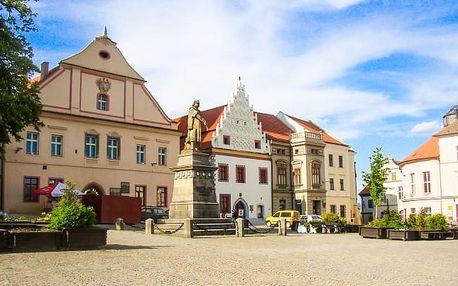 Jižní Čechy v centru Tábora se snídaní