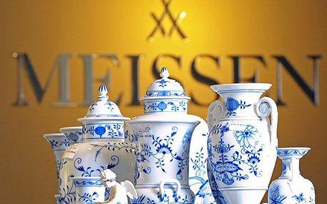 1denní zájezd pro 1 do slavné porcelánky v německé Míšni i s plavbou lodí