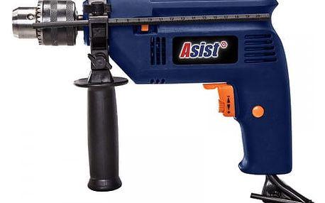 ASIST AE1P50D-SAD2 příklepová vrtačka 500 W, 13 mm a sada vrtáků
