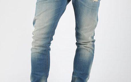 Džíny Diesel Tepphar L.32 Pantaloni Modrá