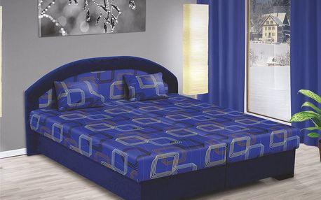 Manželská postel LENKA 170x200 vč. roštu, matrace a ÚP