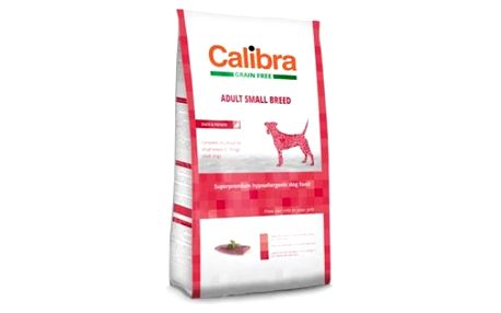 CALIBRA SUPERPREMIUM Dog GF Adult Small Breed Duck 2 kg