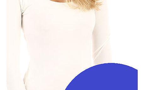 Dámské přiléhavé šaty modrá
