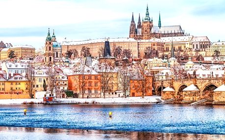 Praha výhodně se snídaní