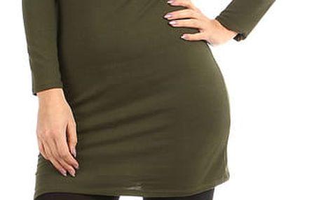 Dámské přiléhavé šaty zelená