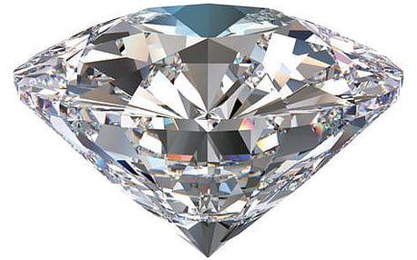 Pravý diamant včetně poštovného