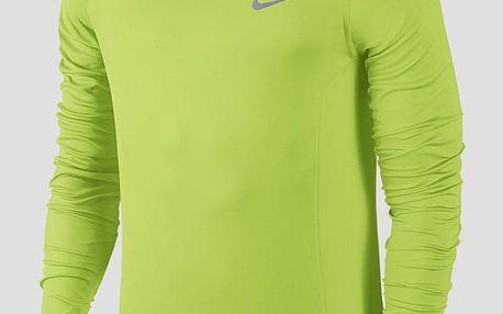 Mikina Nike DF MILER LS Žlutá