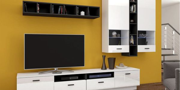 Moderní obývací stěna FLEXIA