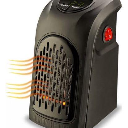 Praktický teplovzdušný ventilátor Rovus Handy heater pro vytopení jakékoliv místnosti.