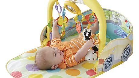 FISHER-PRICE Hrací deka autíčko 3v1