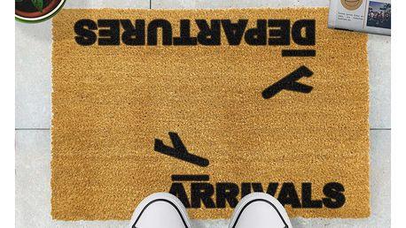Rohožka Artsy Doormats Arrivals and Departures,40x60cm - doprava zdarma!