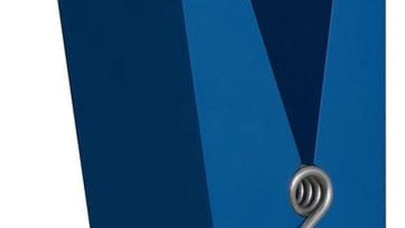 Modrý věšák ve tvaru kolíčku Swab - doprava zdarma!
