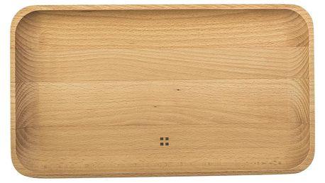 Dřevěný podnos Sola Flow,30x17cm - doprava zdarma!