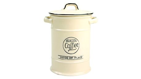 Krémová keramická dóza na kávu T&G Woodware Pride Of Place - doprava zdarma!