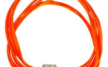 Fashion Icon Náramek barevné provázky s krystalky