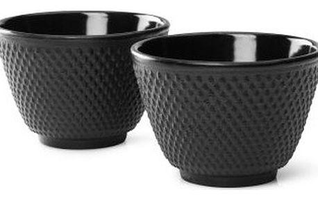 Sada 2 černýchlitinových hrnečků na čaj Bredemeijer Xilin - doprava zdarma!