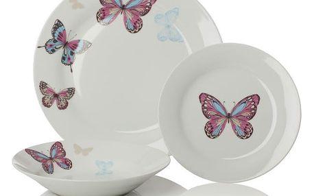 12dílný set nádobí Sabichi Mariposa - doprava zdarma!