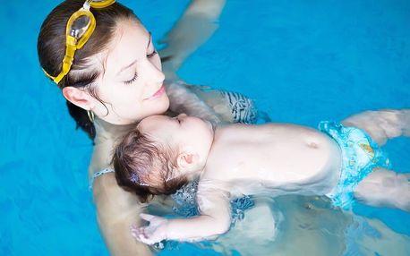 Zimní kurz plavání pro rodiče s dětmi na Šutce