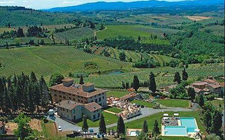 Pobyt v Toskánsku uprostřed vinic pro dva ve Villa San Filippo. Dítě zdarma!