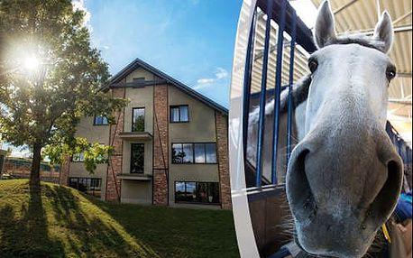 Pobyt v rezidenci u moderního ranče s polopenzí jen 7 km od Krakova