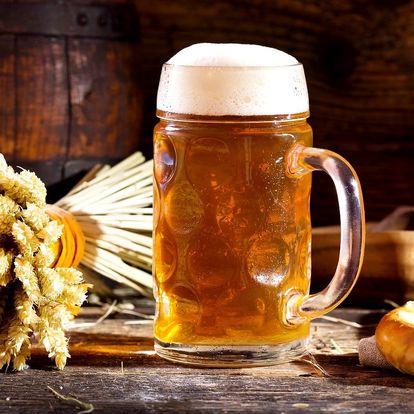 Pobyt v hotelu s degustací piva nebo pivní lázní